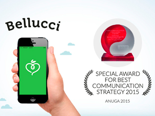 Bellucci Wins Best Communications Strategy Award at Anuga 2015 for New App