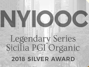 Sicilia PGI Organic Awarded Silver at NYIOOC